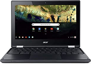 Acer Chromebook R 11.6 in HD Multi-Touch Screen Convertible Laptop, Webcam, Intel Celeron N3060, 4GB RAM, 32GB eMMC SSD, Google Chrome OS (Black Color)