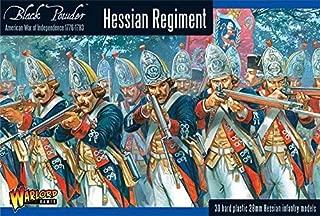 Black Powder Revolutionary War Hessian Regiment 1:56 Military Wargaming Plastic Model Kit