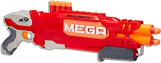 NERF MEGA - DoubleBreach - Double Barrel Blaster - inc 6 Official MEGA Darts - Kids Toys & Outdoor Games - Ages 8+