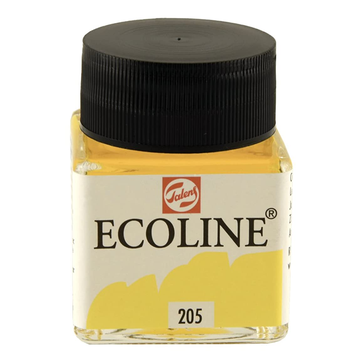 Royal Talens Ecoline Liquid Watercolor, 30ml Bottle, Lemon Yellow (11252050)