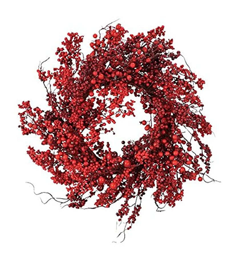 Fantastic Craft Red Berry Wreath, 22-Inch