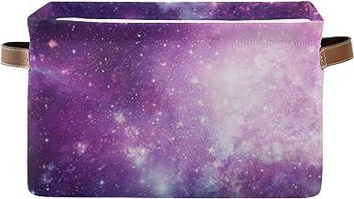 Paniers De Rangement Univers Rempli Étoiles Nebula Galaxy Closet Organisateur Étagère Boîte Avec Poignée Porte-Couverture ...