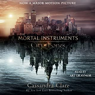 City of Bones audiobook cover art