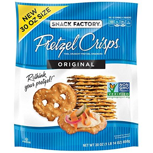 Snack Factory Original Pretzel Crisp 30 Oz