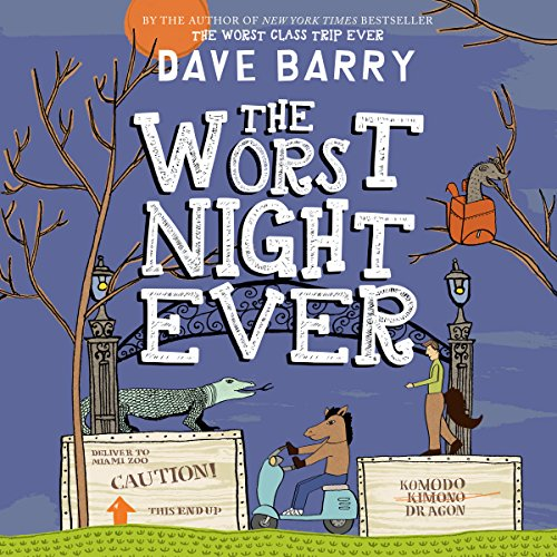 The Worst Night Ever audiobook cover art