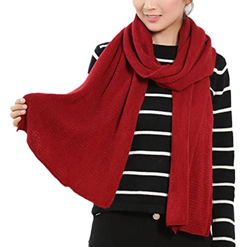 000fde2eb385d Hosaire 1 Pcs Unisex Women Men Knitting Wool Scarves Warm Winter Thick Scarf  Knitted Snood Loop