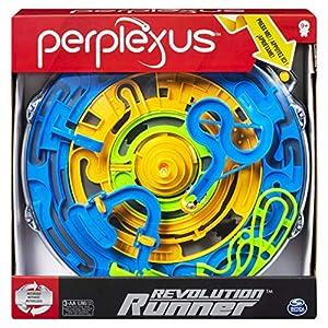 Spin Master Games 6053770 - Perplexus Revolution Runner, motorisiertes 3D-Labyrinthspiel mit kontinuierlicher Bewegung, für Kinder ab 9Jahren