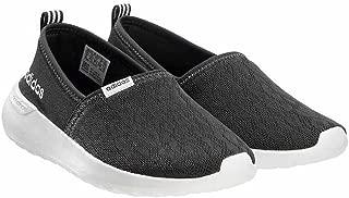Women's Lite Racer Slip On W Casual Sneaker (7 B(M), Black (New Edition))