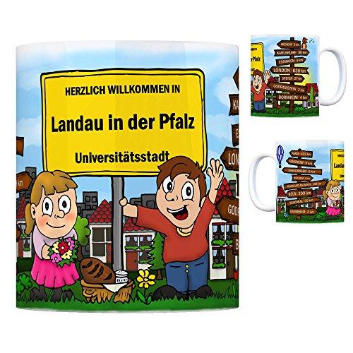 trendaffe - Herzlich Willkommen in Landau in der Pfalz Kaffeebecher