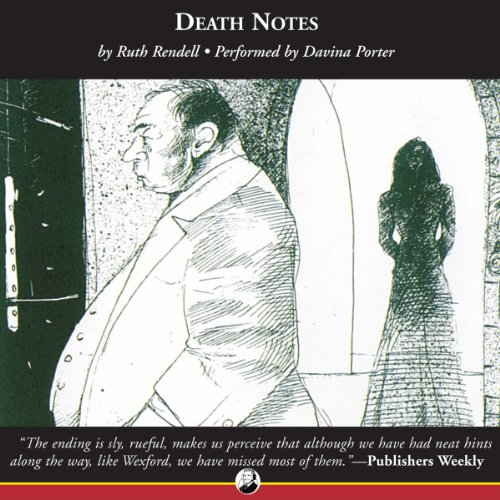 Death Notes audiobook cover art