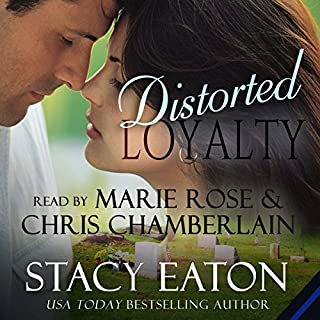 Distorted Loyalty audiobook cover art