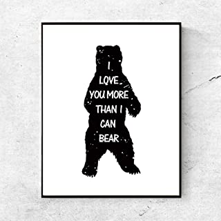 Best i love you more than i can bear bedding Reviews