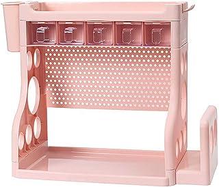 CHENSQ Pot Rack Storage Box Wall-Mounted, Hanging Pot Rack Kitchen Storage and Organization