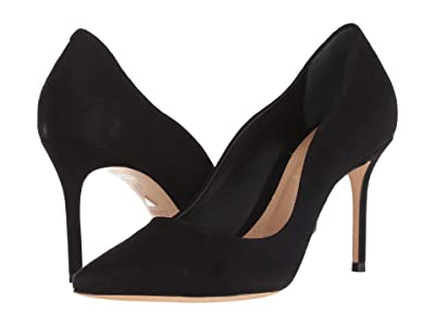 Schutz Analira (Black Camurca Cabra) High Heels