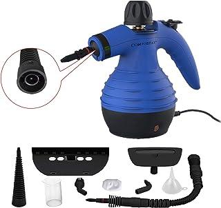 Comforday-Dampfreiniger als Handgerät mit 9 Zubehörteilen für Fleckenentfernung,..