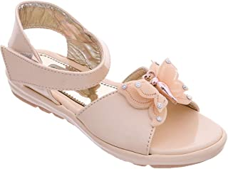 Chipbeys Girls Sandals with Butterfly Embellishment