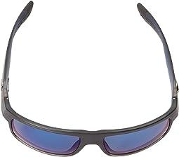 Black Teak Frame/Blue Mirror 580P