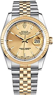 Rolex Datejust 36 116233 Gold/Steel Jubilee Bracelet Luxury Watch