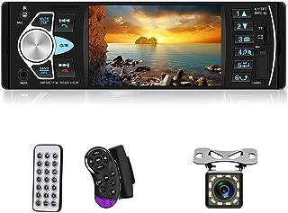 Multimedia Car Stereo Single Din Car Radio 4.1