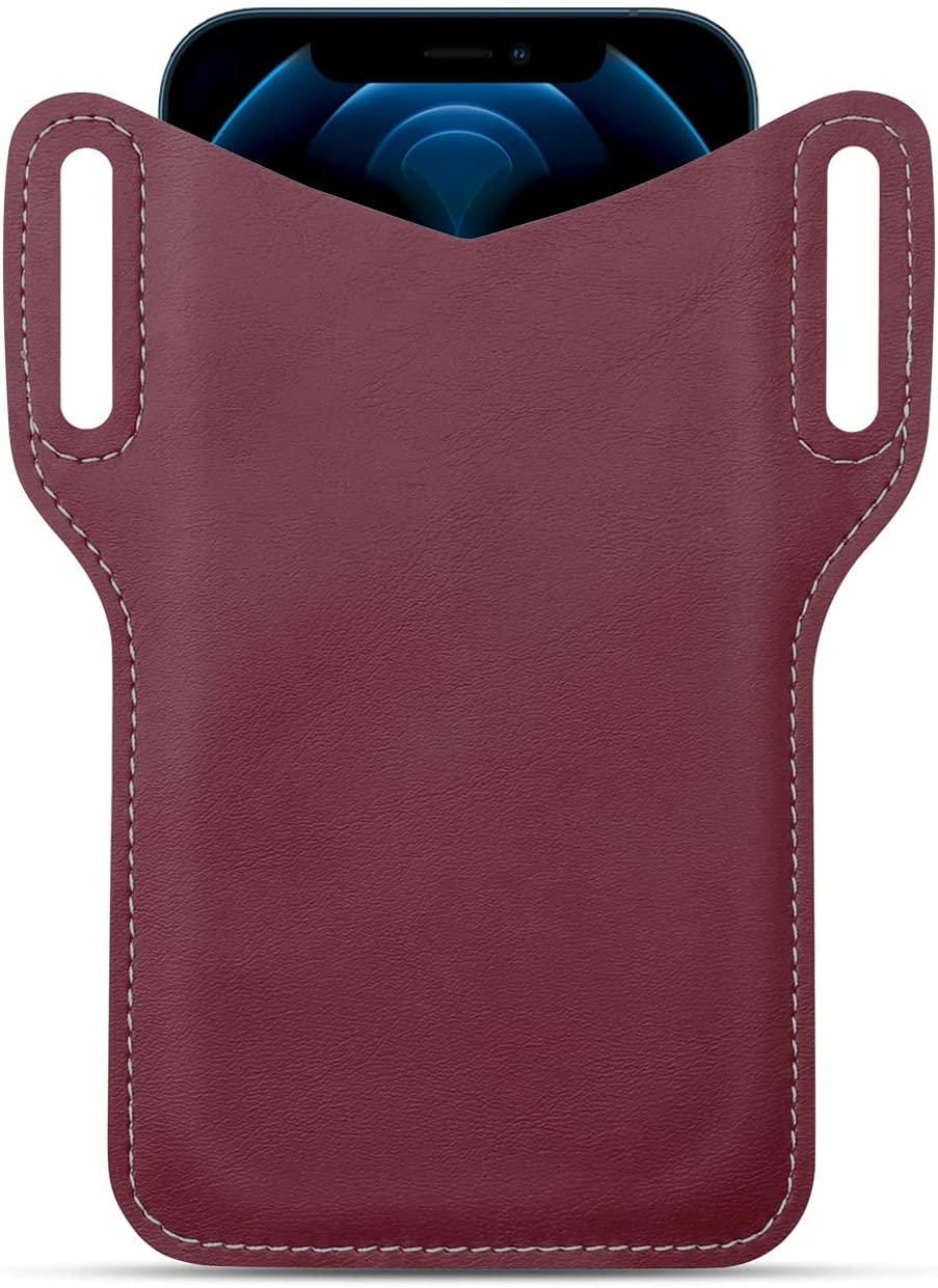 Leather Phone Holster Cell Belt Loop with 2021 5.5-6. Max 80% OFF