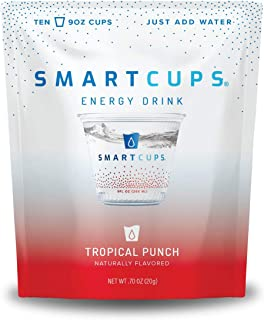 SmartCups v2 Energy Drinks (Tropical Punch v2 Energy Drink 10pk)