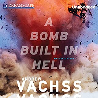 A Bomb Built in Hell audiobook cover art