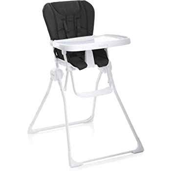 Joovy Nook High Chair, Compact Fold, Swing Open Tray, Black