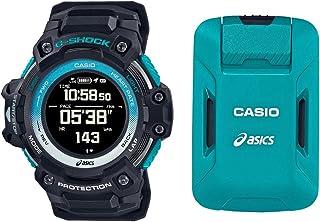 [カシオ] 腕時計 ジーショックスポーツ G-SHOCK × asics GPS&心拍計搭載 ウォッチ+モーションセンサーセット GSR-H1000AS-SET メンズ ブラック