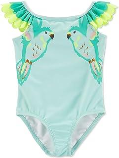 Carter's Baby Girls Double Parrot Flutter Swimsuit