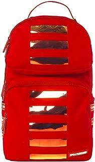 Sprayground Red Hoogram Trooper Backpack