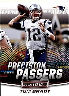 2018 Rookies and Stars Precision Passers  1 Tom Brady New England Patriots  NFL Football Trading 257888405