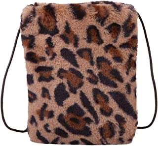 Ultramall New Fashion Plush Satchel Casual Simple Shoulder Messenger Bag