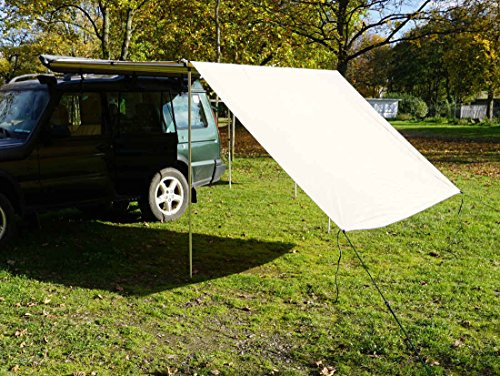 Prime Tech Tarp/Erweiterung zu Fahrzeugmarkise 200cm in beige