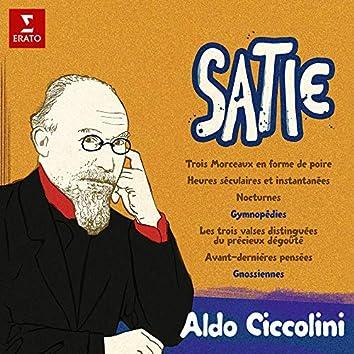 Satie: Morceaux en forme de poire, Gymnopédies, Avant-dernières pensées, Gnossiennes...