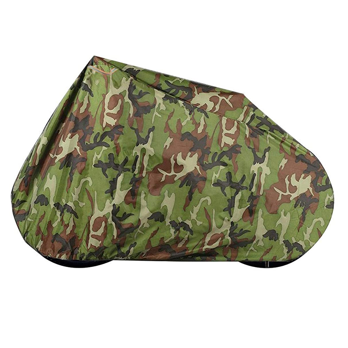 Waterproof Bike Cover Rainproof Cloth Portable Dust-Proof Sunscreen Anti-Oxidation, Multiple Sizes Available, WenMing Yue, Camouflage Color, XL