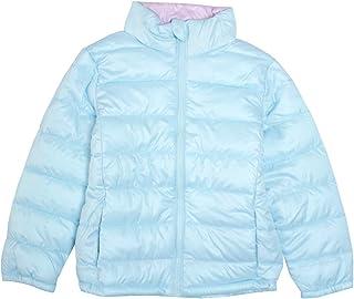 ジャンパー 子供 キッズ 女の子 ファイバーダウン 中綿コート 軽量 ブルゾン ジャケット