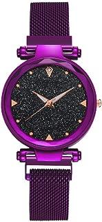 DAMIT Casual Black Dial Magnet Strap Analog Watch - MAGNETLADIES