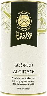 Druids Grove Sodium Alginate ☮ Vegan ⊘ Non-GMO ❤ Gluten-Free ✡ OU Kosher Certified - 8 oz.