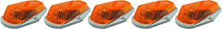 Pacer Performance 20-225 Hi-Five Amber Ford Style Cab Roof Light Kit, (Pack of 5)