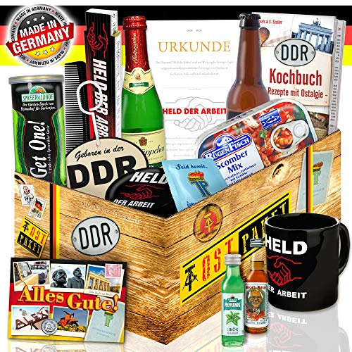 Männer Box mit DDR Produkten / DDR Geschenk für Männer / DDR Artikel