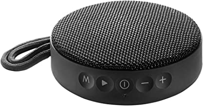 Vieta Pro Round Up - Altavoz inalámbrico (Bluetooth, radio FM, reproductor USB, entrada micro SD, auxiliar, micrófono integrado) negro