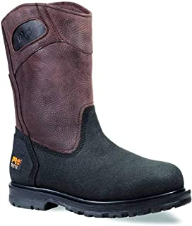 Timberland PRO Men's 53522 Powerwelt Wellington Boot,Rancher Brown,11 M