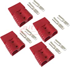 120A Battery Connector Quick Connect Battery Modular Power Connectors Quick Disconnect (Red)