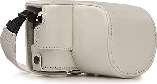 Megagear Olympus Pen E-PL9 Pu Leather Camera Case, White (MG1455)