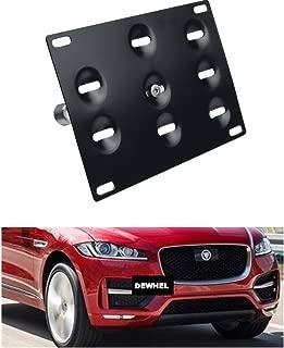 jaguar front license plate mount