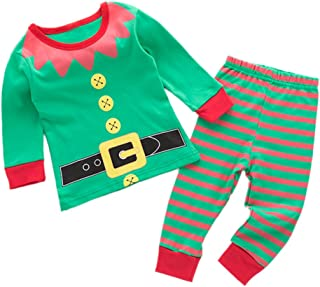 Infant Toddler Holidays Kids Baby Shirt and Pant 2-pc Lounge Sets