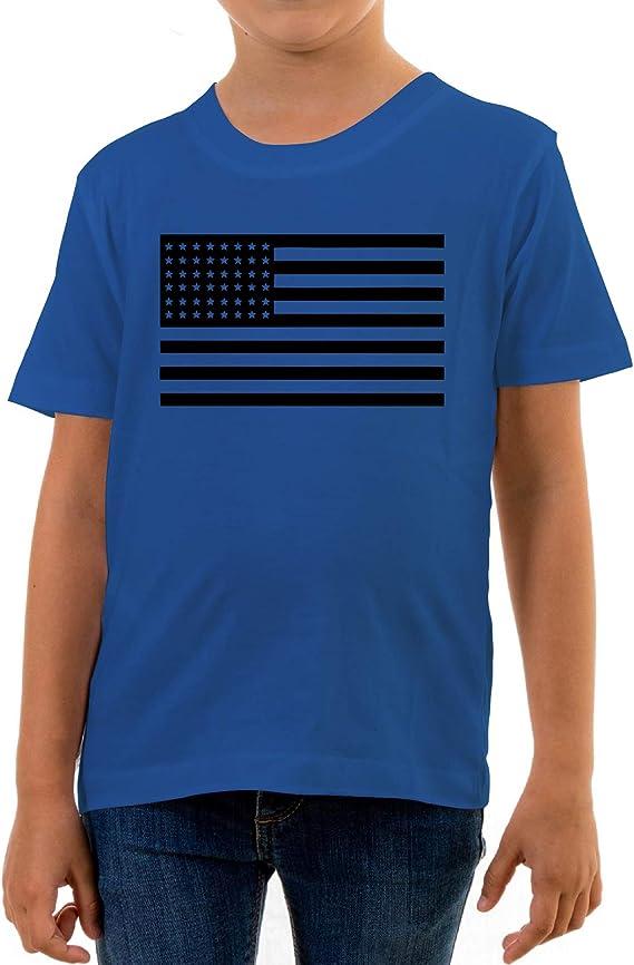 Reality Glitch T-shirt pour enfant Drapeau du Br/ésil