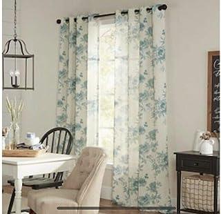Amazon Com Allen Roth Curtains Drapes Window Treatments Home Kitchen