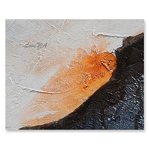 ZNYB Impresiones sobre Lienzo Elemento Decorativo Piezas Obra de Arte Lienzo Abstracto Pintura al óleo Pintada a Mano Conjunto de Paneles de Arte de Pared