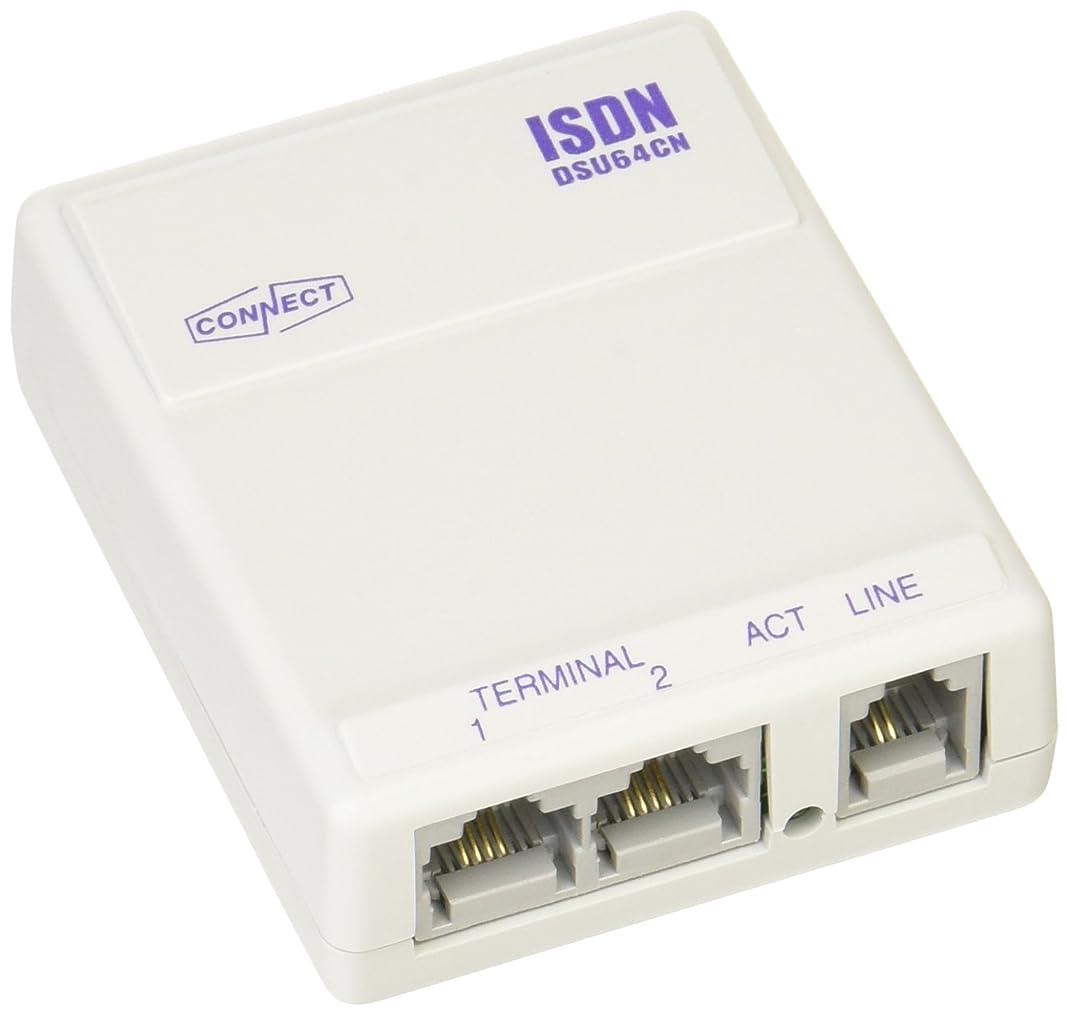 人会社トランペットコネクト ISDN回線終端装置 DSU64CN